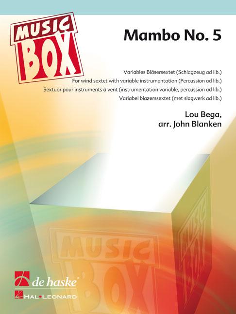 Lou Bega: Mambo No. 5: Wind Ensemble: Score & Parts