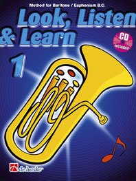 Jaap Kastelein Michiel Oldenkamp: Look  Listen & Learn 1 Baritone / Euphonium