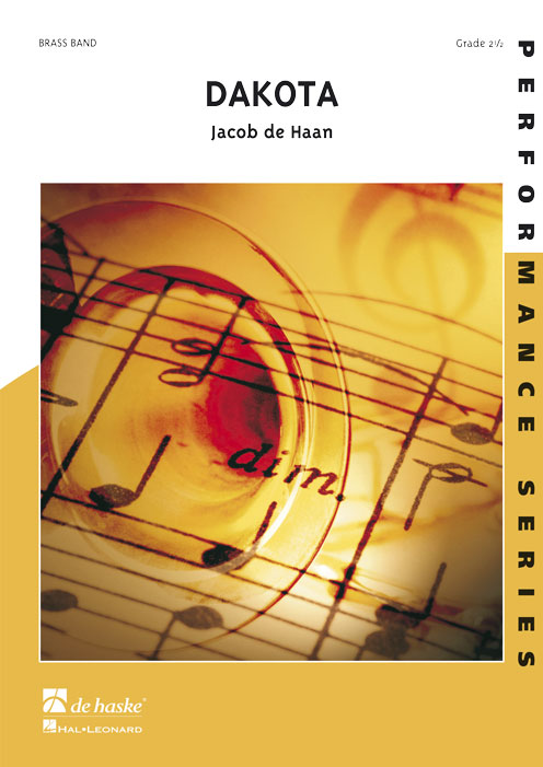 Jacob de Haan: Dakota: Brass Band: Score