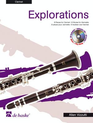 Allen Vizzutti: Explorations: Clarinet: Instrumental Work