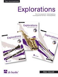 Allen Vizzutti: Explorations P-A Flute / Alto Sax / Clarinet: Piano