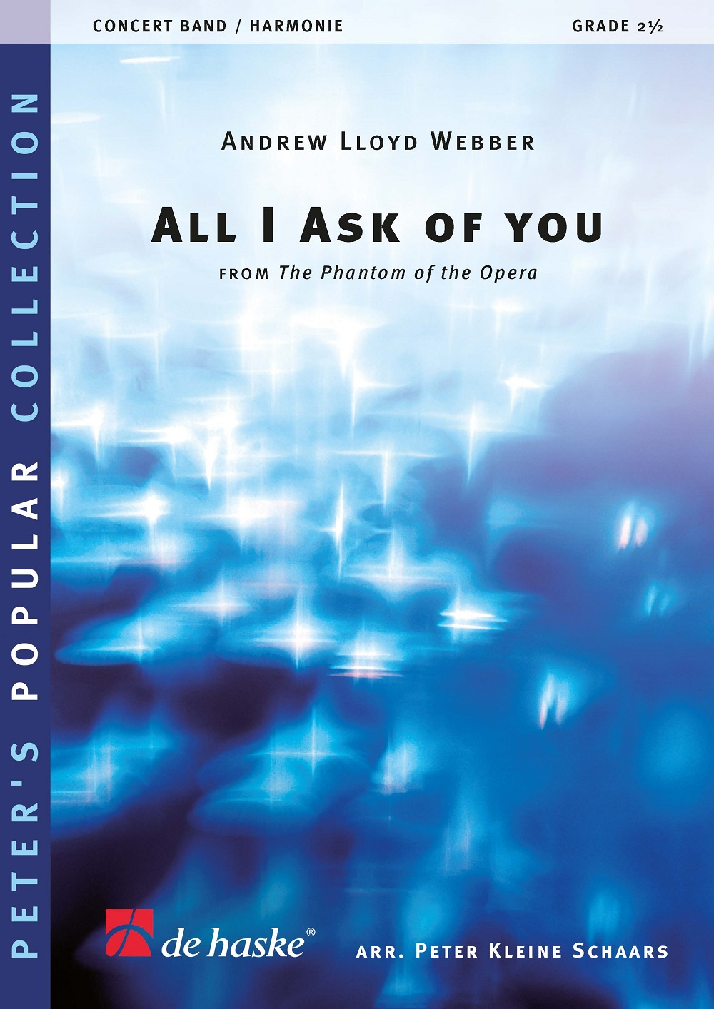 Andrew Lloyd Webber: All I Ask Of You: Concert Band: Score & Parts