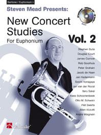 Steven Mead Presents: New Concert Studies 2: Baritone Horn or Euphonium: