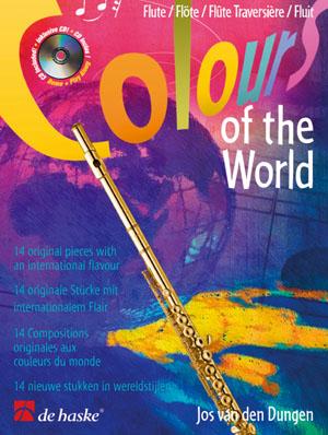 Jos van den Dungen: Colours of the World: Flute: Instrumental Work