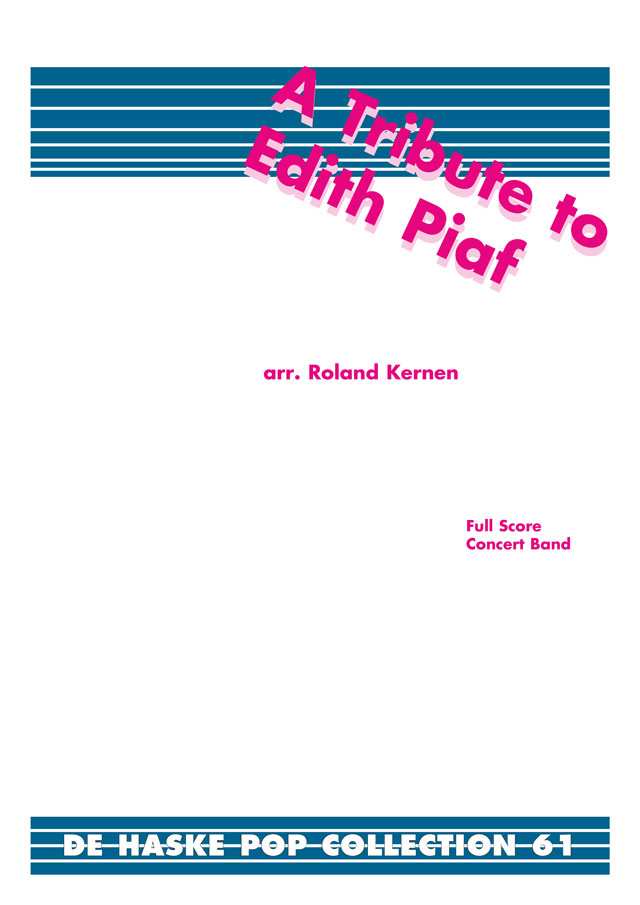 A Tribute to Edith Piaf: Concert Band: Score