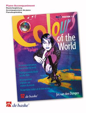 Jos van den Dungen: Colours of the World: Piano Accompaniment: Instrumental Work