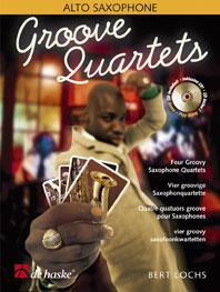 Bert Lochs: Groove Quartets: Saxophone Ensemble: Book & CD