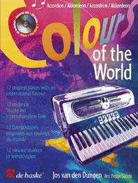 Jos van den Dungen: Colours of the World: Accordion: Instrumental Work