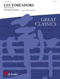 Georges Bizet: Les Toréadors: Concert Band: Score & Parts