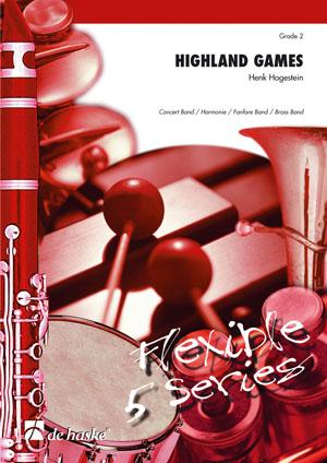 Henk Hogestein: Highland Games: Brass Band: Score & Parts
