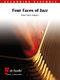 Peter Kleine Schaars: Four Faces of Jazz: Accordion Ensemble: Score and Parts