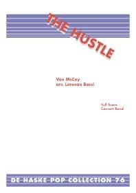 Van McCoy: The Hustle: Fanfare Band: Score & Parts