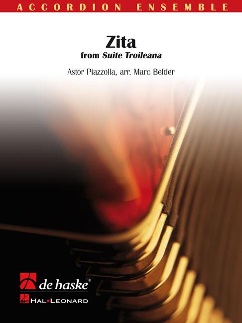 Astor Piazzolla: Zita: Accordion Ensemble: Score & Parts