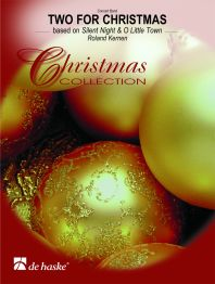 Roland Kernen: Two for Christmas: Fanfare Band: Score & Parts