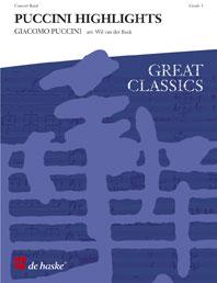 Giacomo Puccini: Puccini Highlights: Concert Band: Score & Parts