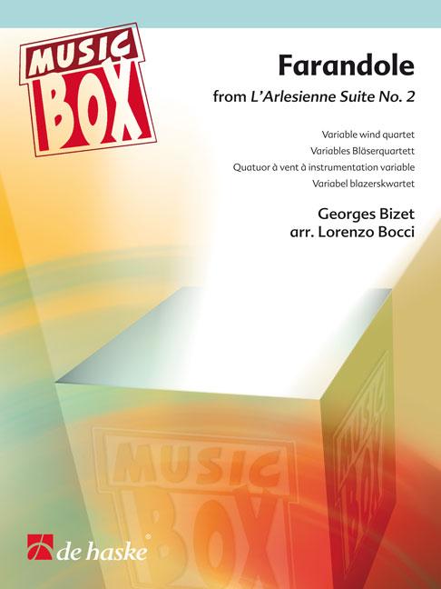 Georges Bizet: Farandole: Wind Ensemble: Score & Parts