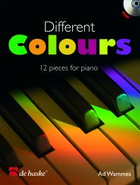 Ad Wammes: Different Colours: Piano: Instrumental Work