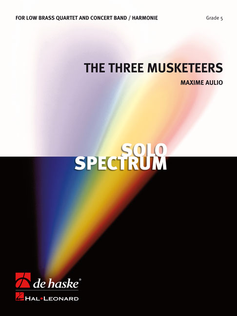 Maxime Aulio: The Three Musketeers  Op. 8: Brass Ensemble: Score & Parts