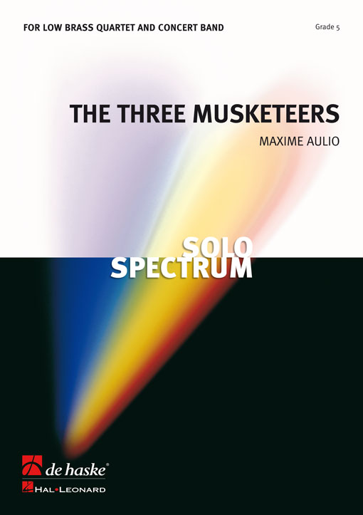 Maxime Aulio: The Three Musketeers  Op. 8: Brass Ensemble: Score
