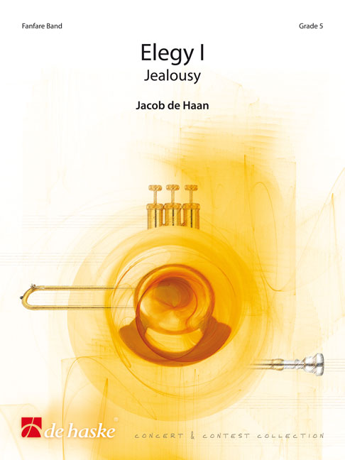 Jacob de Haan: Elegy I: Fanfare Band: Score
