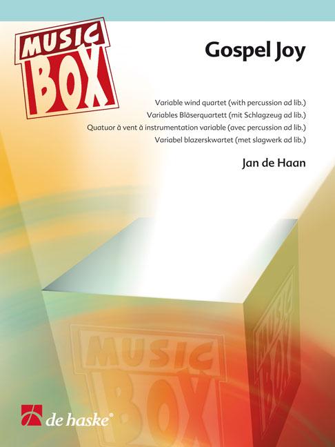 Jan de Haan: Gospel Joy: Wind Ensemble: Score & Parts