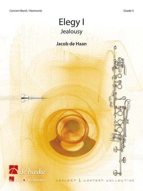 Jacob de Haan: Elegy I: Concert Band: Score