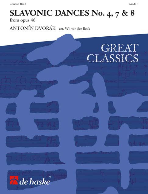 Antonín Dvo?ák: Slavonic Dances No. 7 & 8: Concert Band: Score