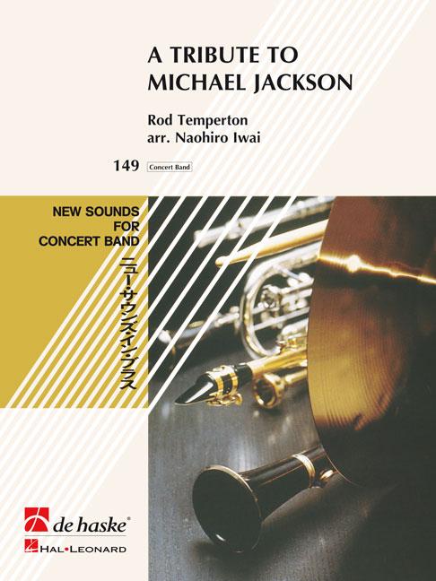 Rod Temperton: A Tribute to Michael Jackson: Concert Band: Score