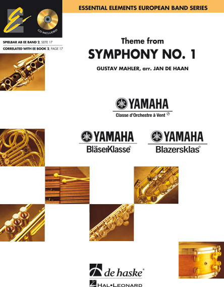 Gustav Mahler: Theme from Symphony No. 1: Concert Band: Score & Parts