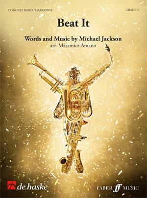 Michael Jackson: Beat it: Concert Band: Score & Parts