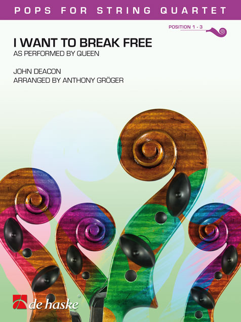 John Deacon: I Want To Break Free: String Quartet: Score & Parts