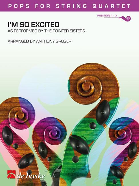 Trevor Lawrence  The Pointer Sisters: I'm So Excited: String Quartet: Score &