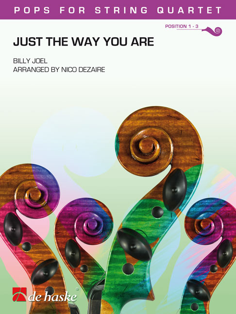 Billy Joel: Just the Way You Are: String Quartet: Score & Parts