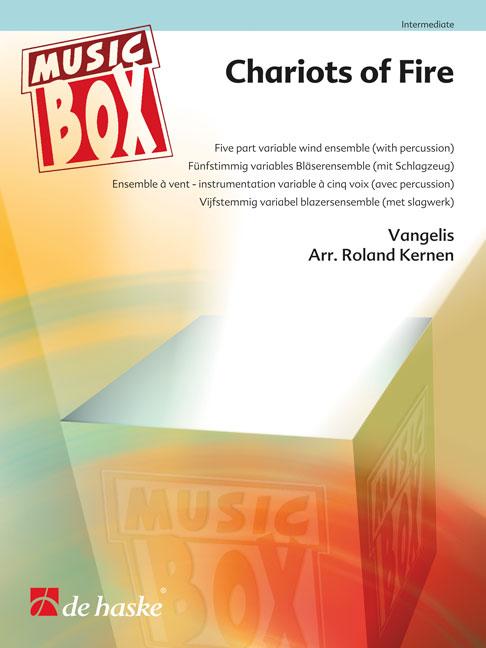 Vangelis: Chariots of Fire: Wind Ensemble: Score & Parts
