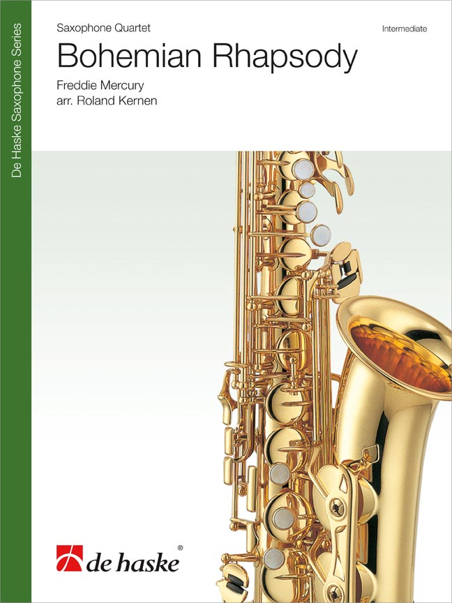Freddie Mercury: Bohemian Rhapsody - Saxophone Quartet: Saxophone Ensemble: