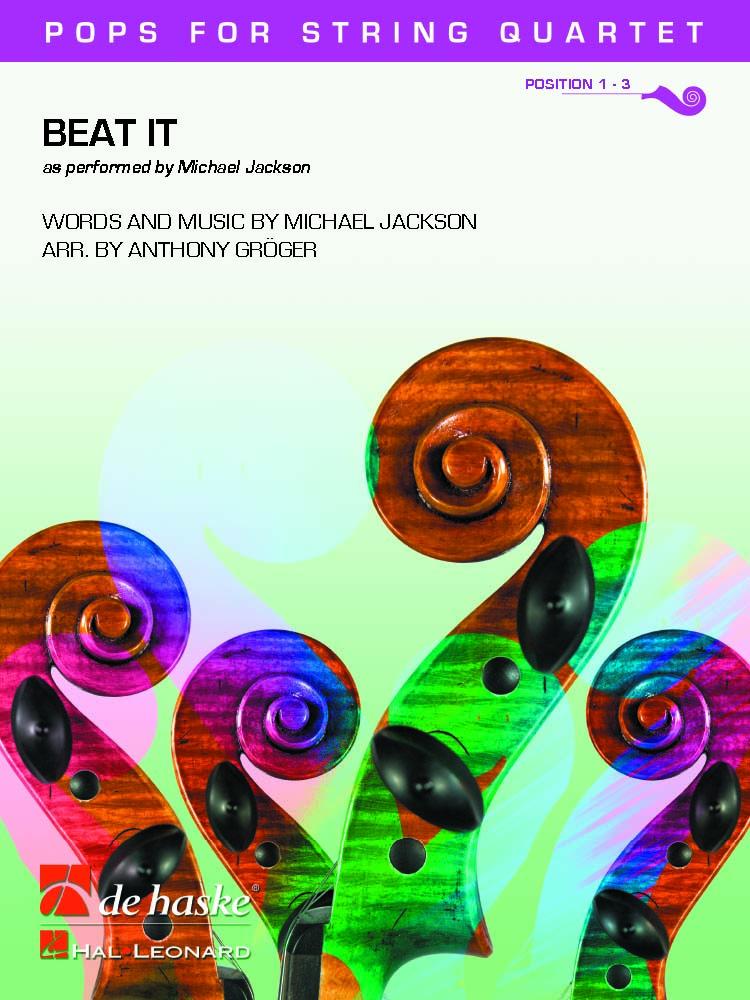 Michael Jackson: Beat It: String Ensemble: Score and Parts