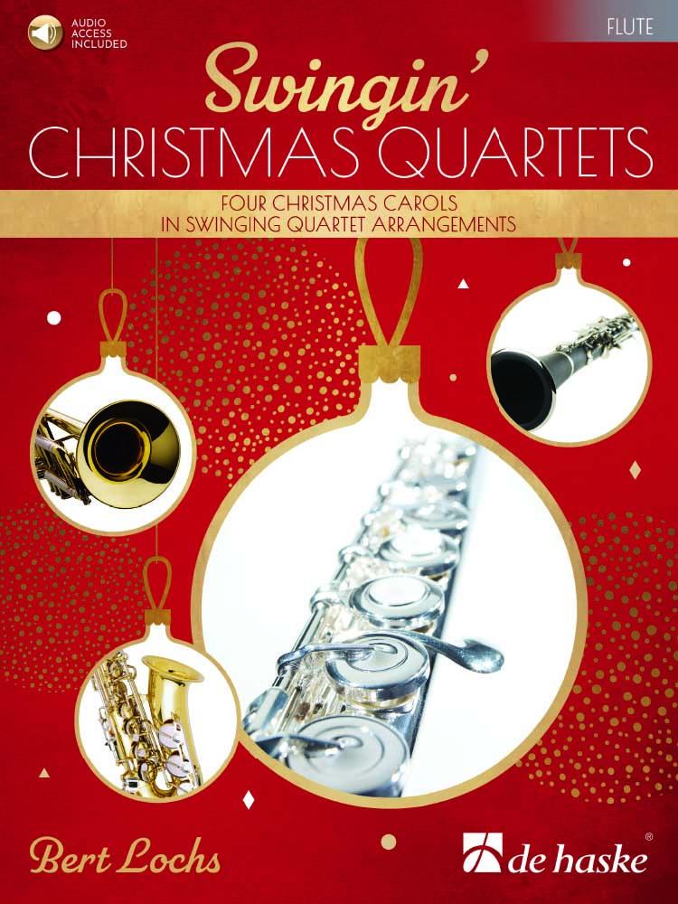 Bert Lochs: Swingin' Christmas Quartets: Flute Ensemble: Parts