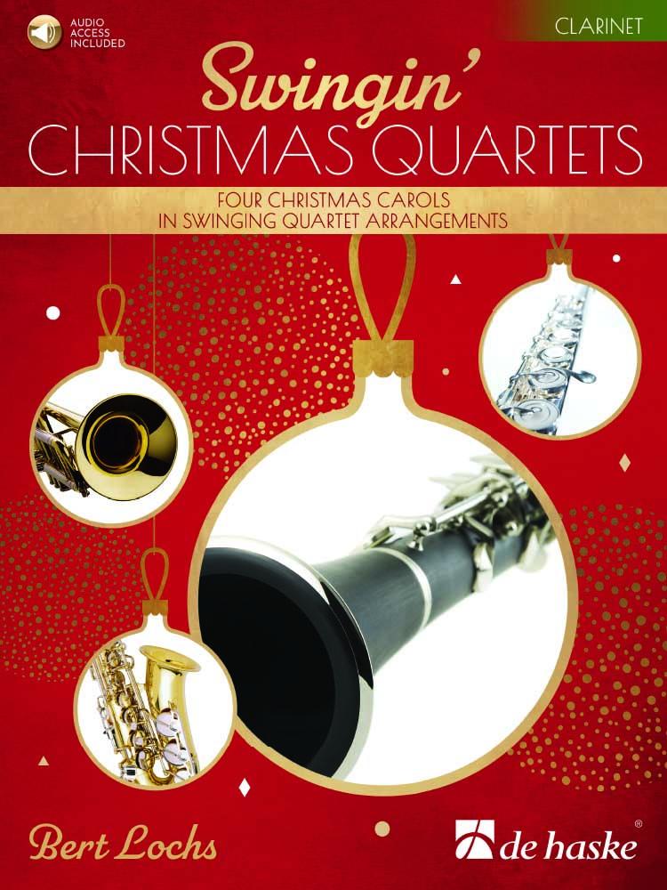 Bert Lochs: Swingin' Christmas Quartets: Clarinet Ensemble: Parts