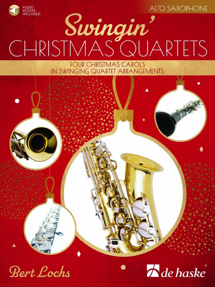 Bert Lochs: Swingin' Christmas Quartets: Saxophone Ensemble: Parts