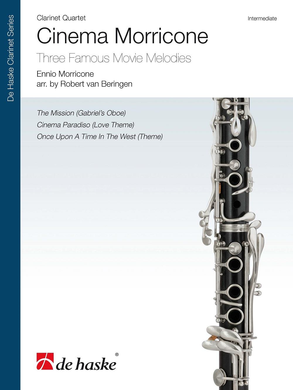 Ennio Morricone: Cinema Morricone: Clarinet Ensemble: Score & Parts