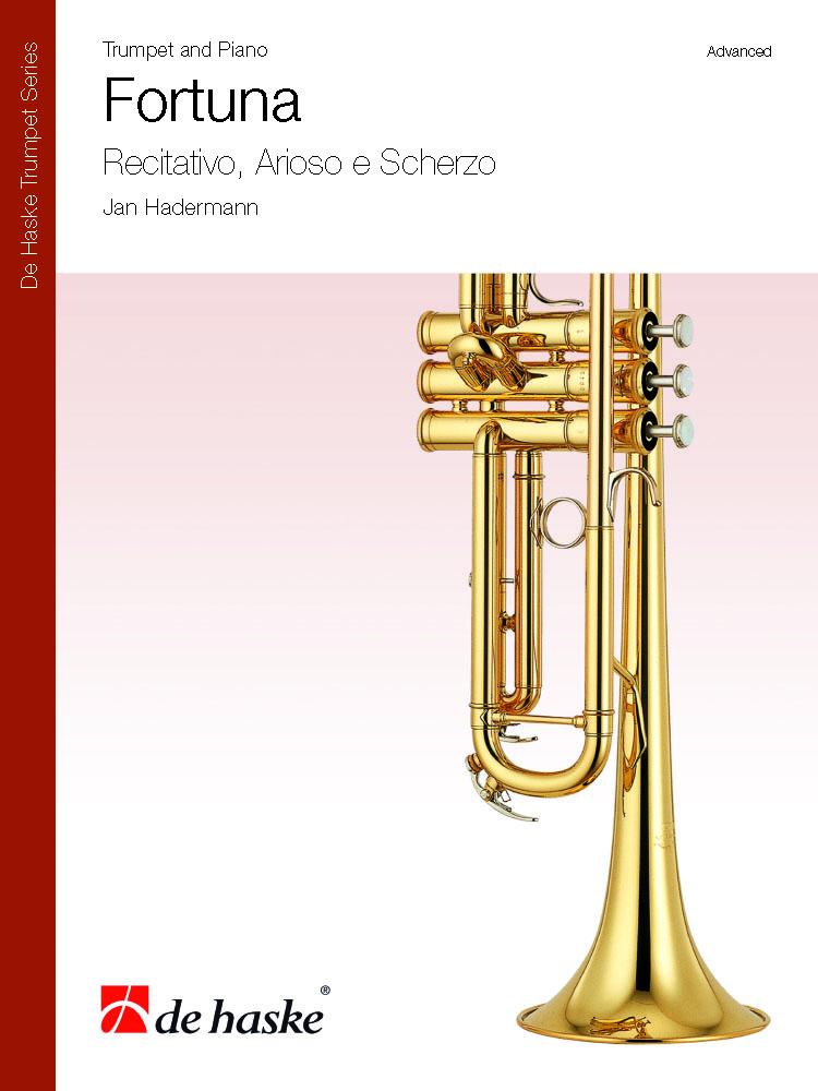 Jan Hadermann: Fortuna: Trumpet & Piano: Score & Parts