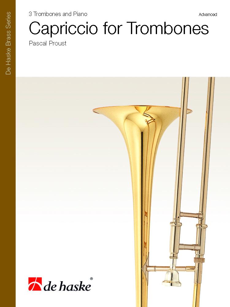 Pascal Proust: Capriccio for Trombones: Trombone Ensemble: Score and Parts