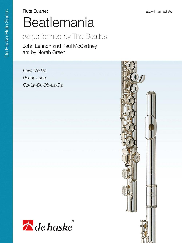 Beatlemania: Flute Ensemble: Score and Parts