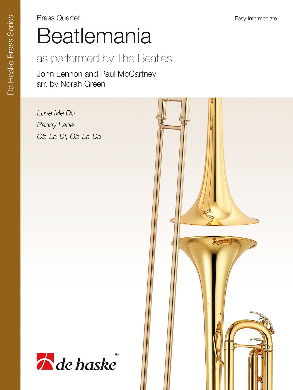 Beatlemania: Brass Ensemble: Score and Parts