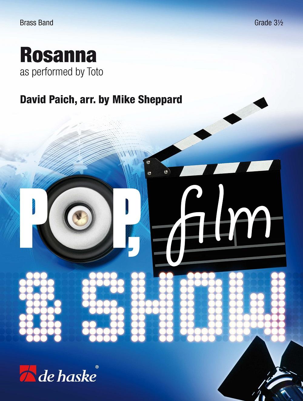 David Paich: Rosanna: Brass Band: Score