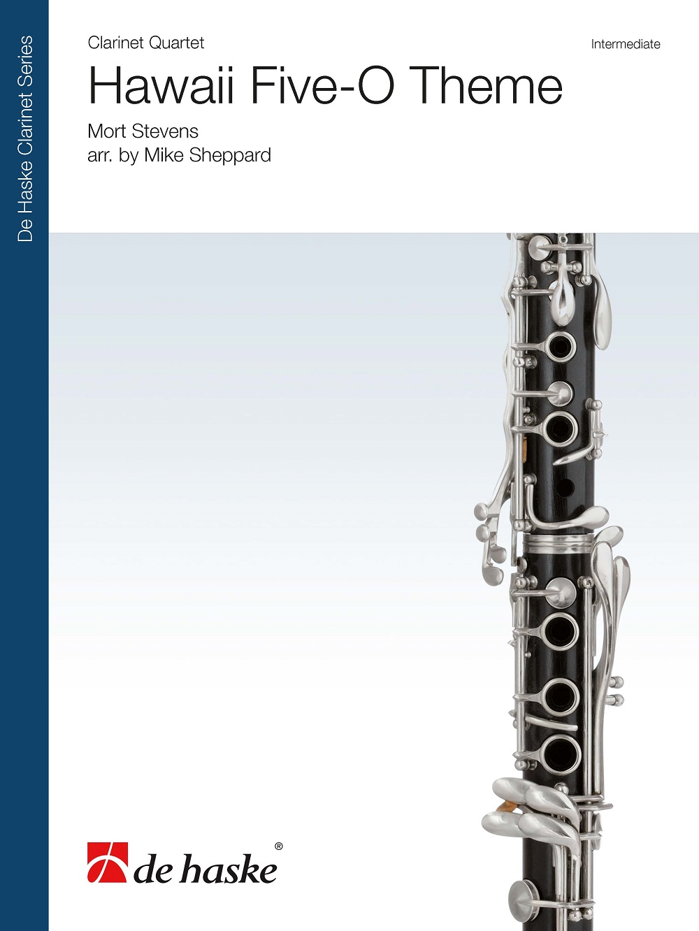 Hawaii Five-O Theme: Clarinet Ensemble: Score and Parts