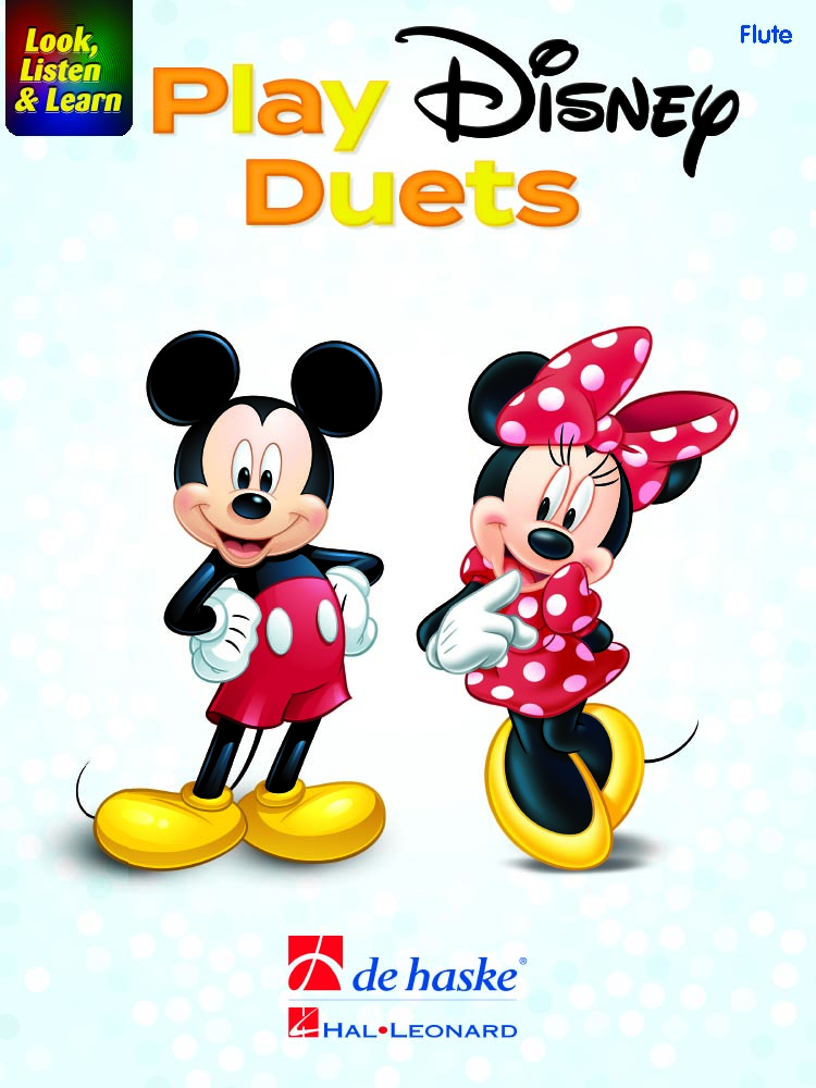 Look  Listen and Learn - Play Disney Duets: Flute: Instrumental Album