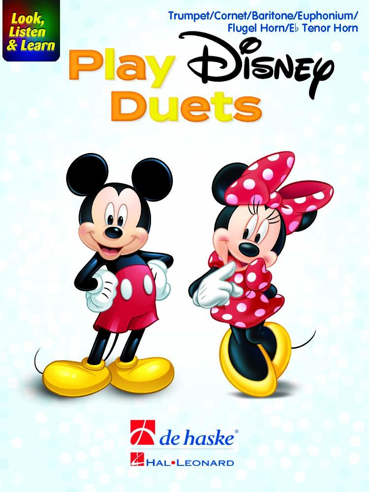 Look  Listen & Learn - Play Disney Duets: Trumpet: Instrumental Album