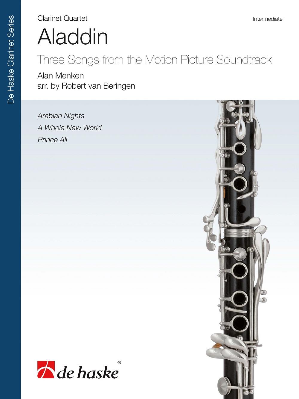 Alan Menken: Aladdin: Clarinet Ensemble: Score and Parts