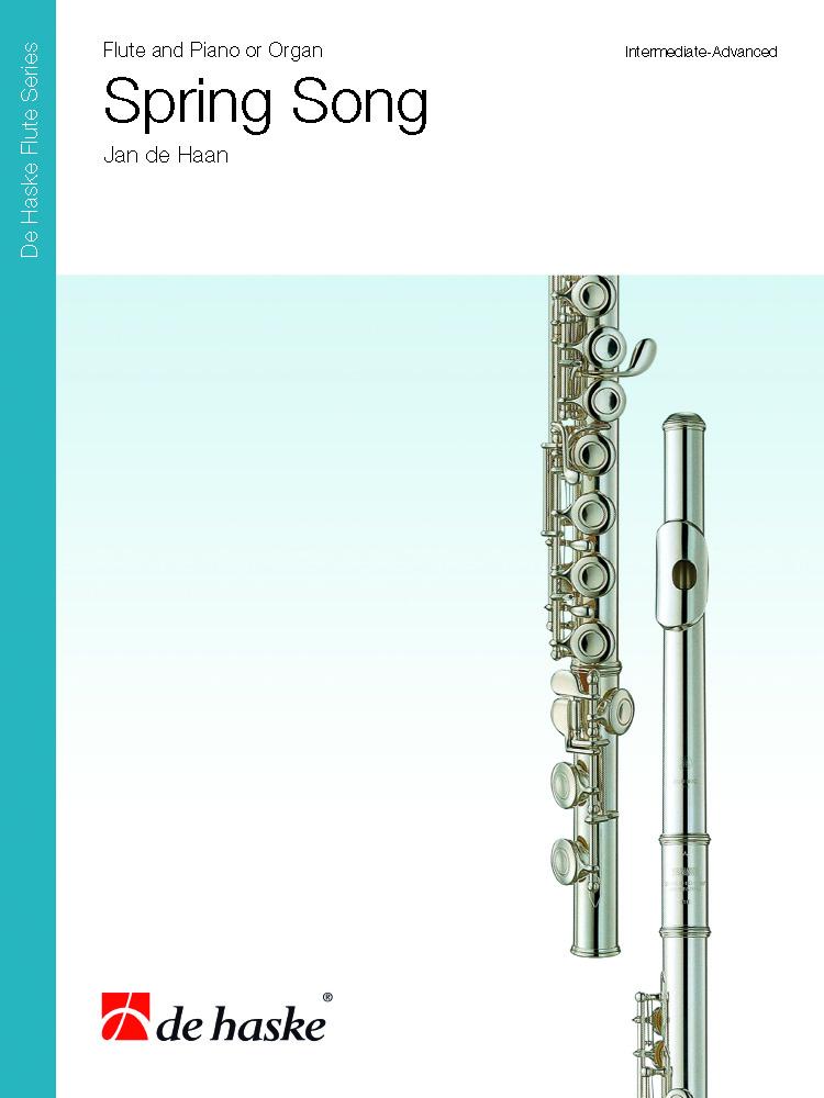 Jan de Haan: Spring Song: Flute: Score